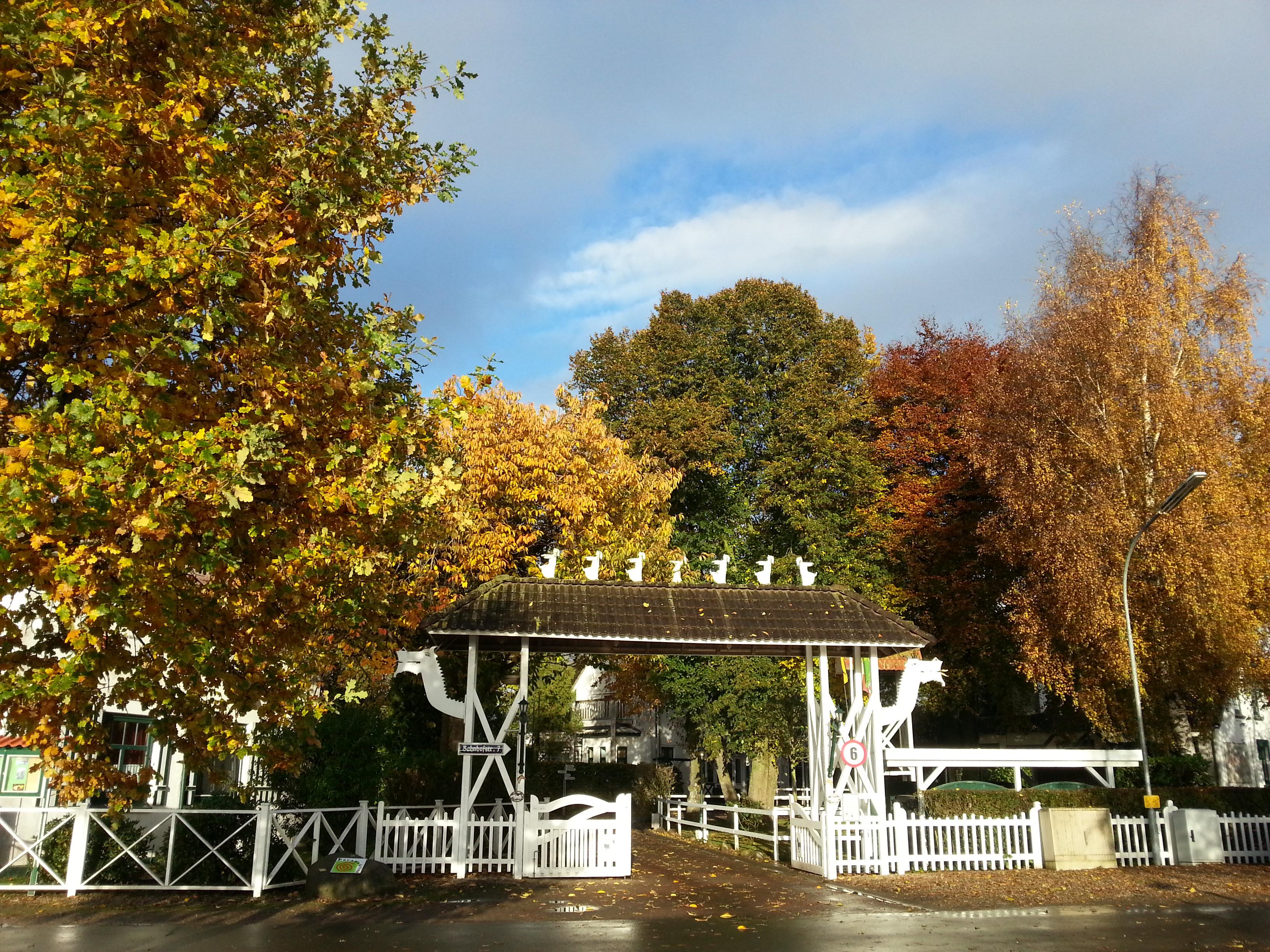 Herbstlicher Jugendhof